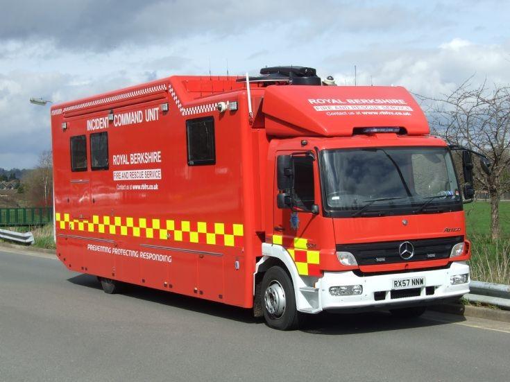 Incident Command Unit Mercedes RX57 NNW