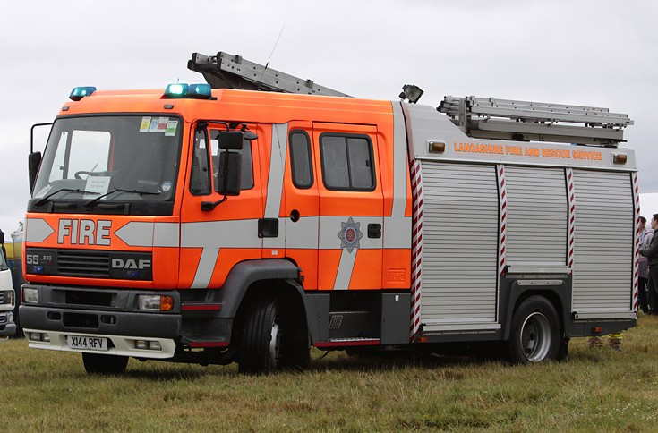 Lancashire Fire And Rescue Service DAF 55