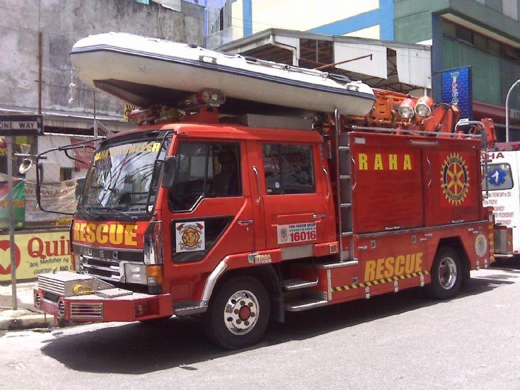 Raha Fuso Rescue Truck