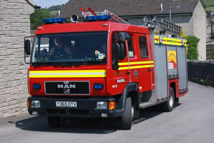 Bradwell Derbyshire FRS  - Y365 DTV