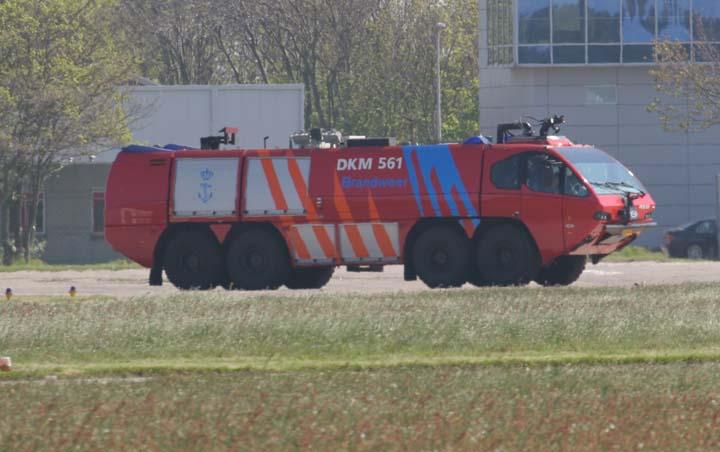 E-One crashtender Royal Dutch Navy  De Kooy