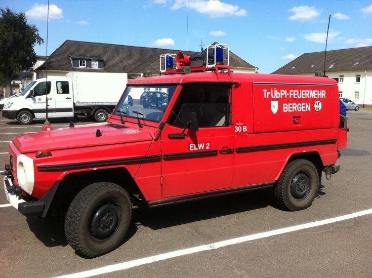Mercedes Y-316 461 Bergen Fire Dept