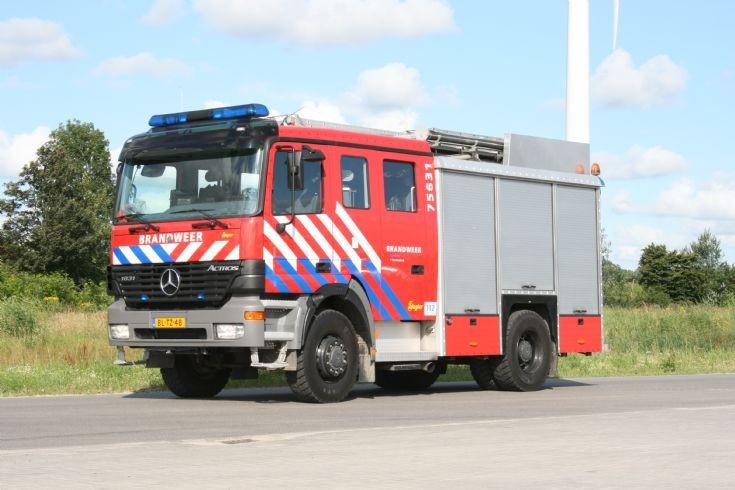 Brandweer Terneuzen Mercedes Actros 75631