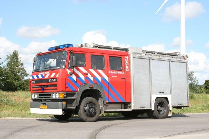 DAF Ziegler brandweer Terneuzen