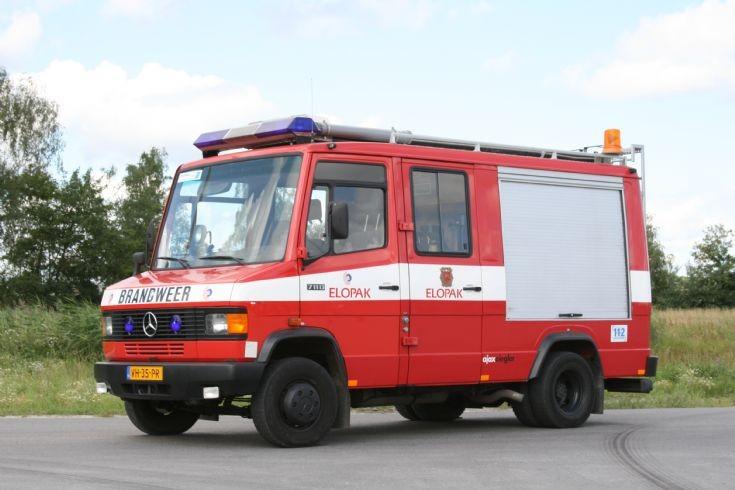 Bedrijfsbrandweer Elopak Mercedes Ajax-Ziegler