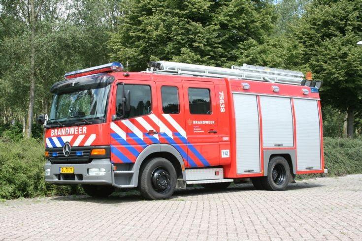 Brandweer Koewacht Mercedes Atego