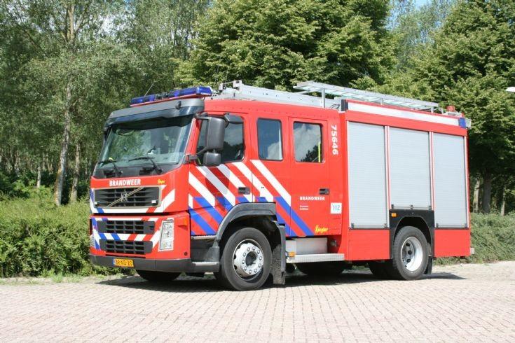 Brandweer Zuiddorpe Volvo FM Ziegler