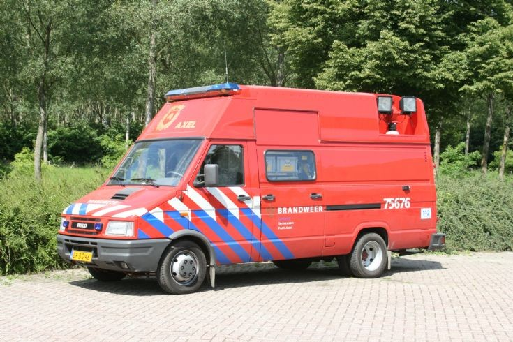 Brandweer Axel Recue unit Iveco