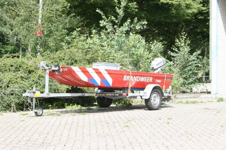 Brandweer Axel Fire boat