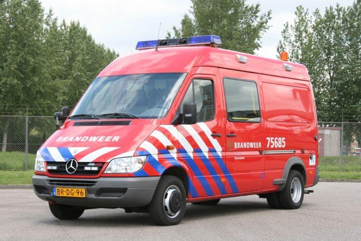 Brandweer Sas van Gent Mercedes Sprinter