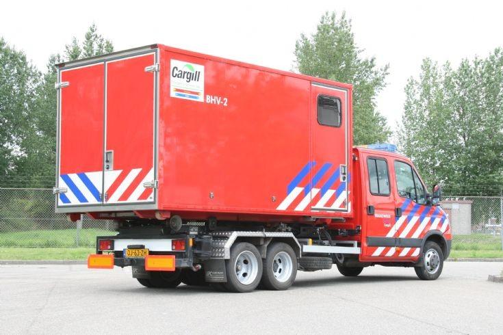 Brandweer Cargill HA Iveco back