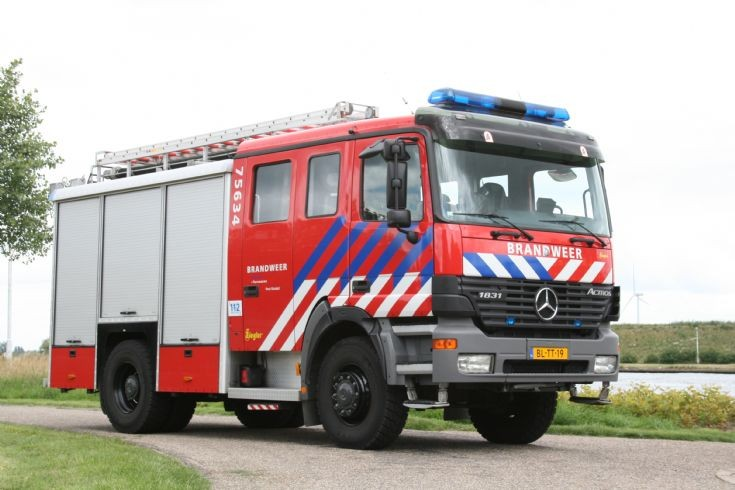 Brandweer Sluiskil Mercedes Actros