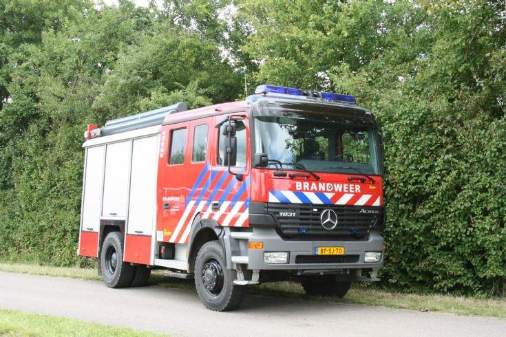 Brandweer Mauriotsfort Mercedes Actros