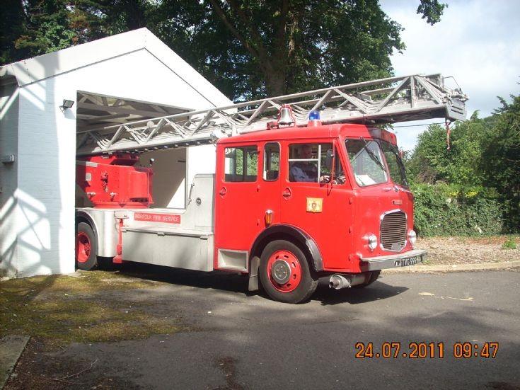 Dennis F27 Magirus TL Norfolk TVG999