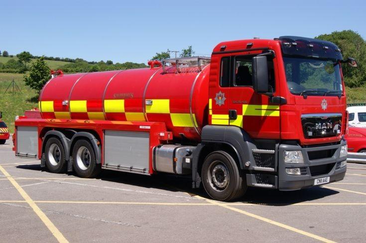 South Wales MAN Water carrier CN11 AAE