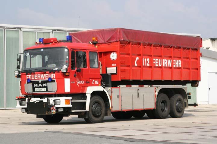 Werkfeuerwehr Merck Darmstadt MAN Prime mover