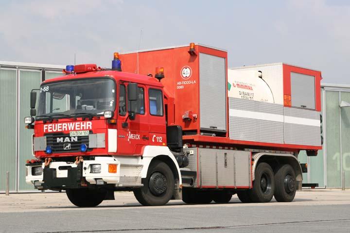 Merck Darmstadt MAN Prime mover