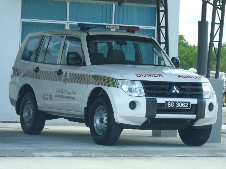 Mitsubishi Pajero CC18 Brunei Fire Rescue