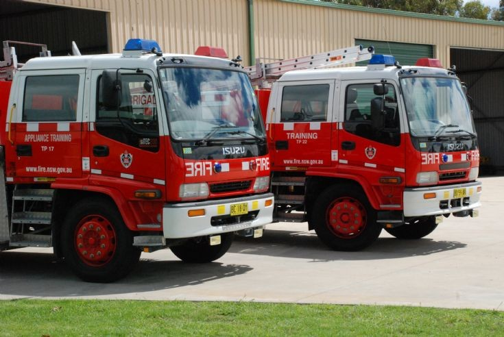 NSWFB Appliance Training Vehicles