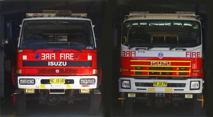 Old N New tankers NSWFB