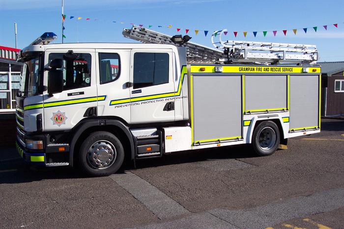 481 Grampian Fire Service Buckie