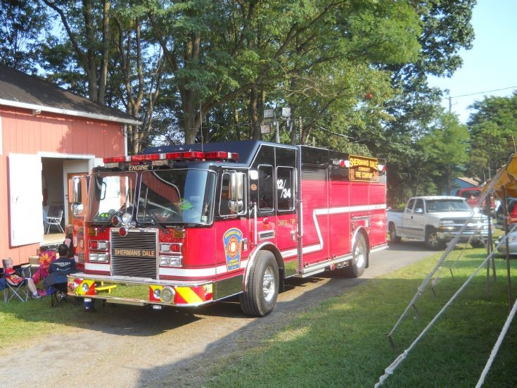 KME Apparatus Sherman's Dale Fire Volunteer Co