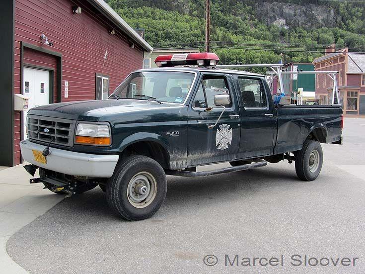 Skagway Fire dept Ford F350