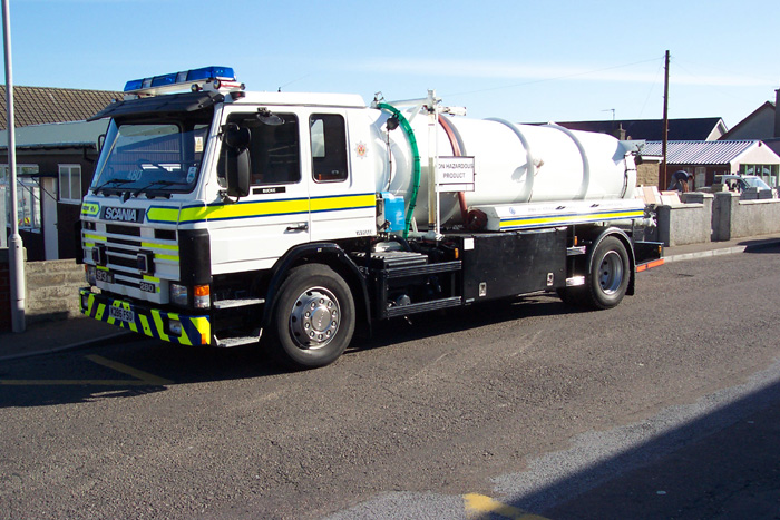 480 Grampian Fire Service Water carrier