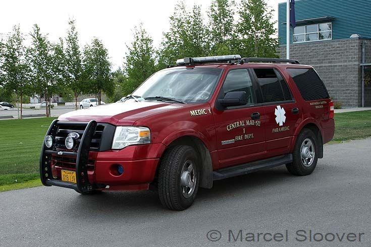 Central Mat-Su Medic 1 Fire dept. Ford