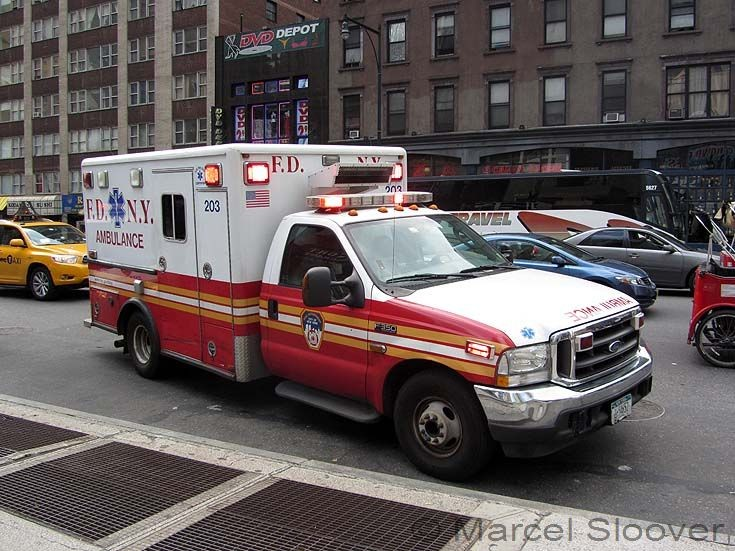 Ambulance 203 FDNY Ford F350