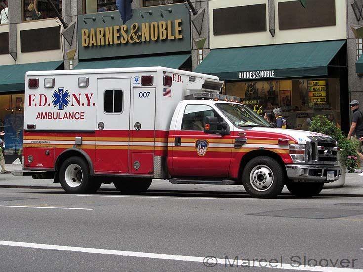 FDNY Ambulance 007 Ford F350