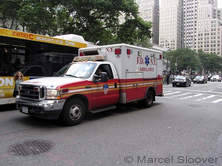FDNY Ambulance 120 Manhattan