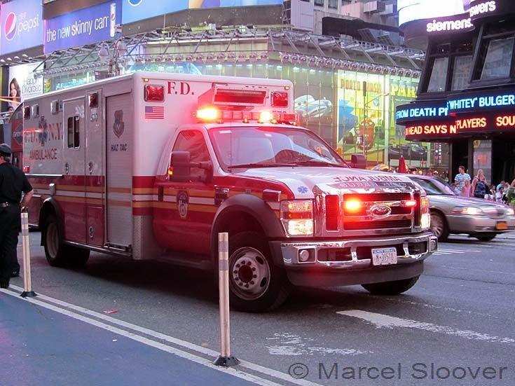 Ambulance 570 Ford F450 FDNY