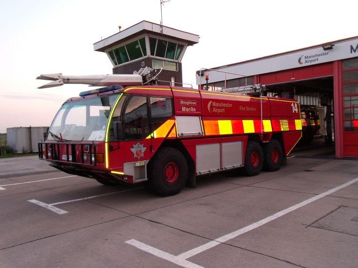 Manchester Airport Boughton Marlin
