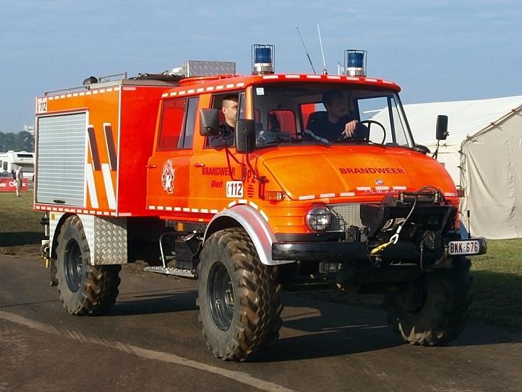 Mercedes Unimog Brandweer Diest BKK 676
