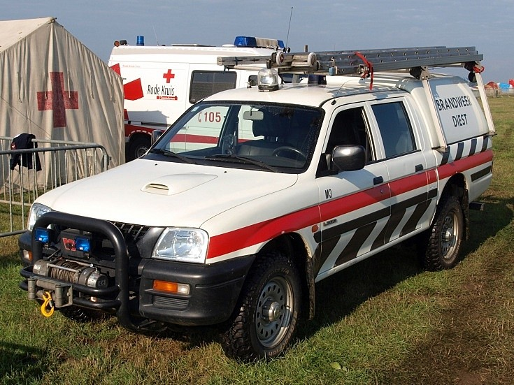 Mitsubishi L200 Brandweer Diest