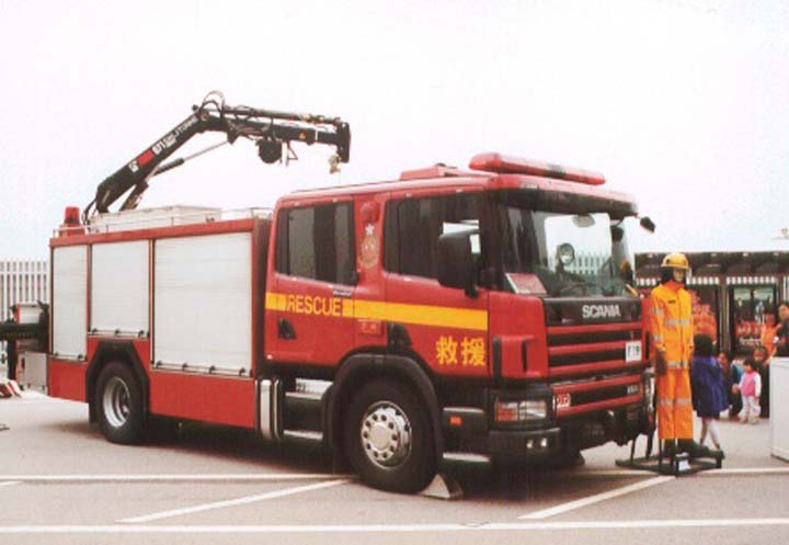 Scania 1st generation Rescue Tender