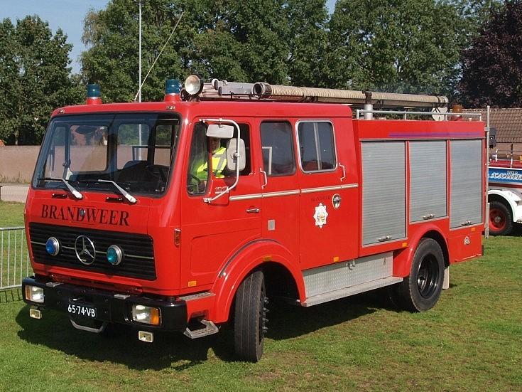 Dutch 1977 Mercedes-Benz 1017F