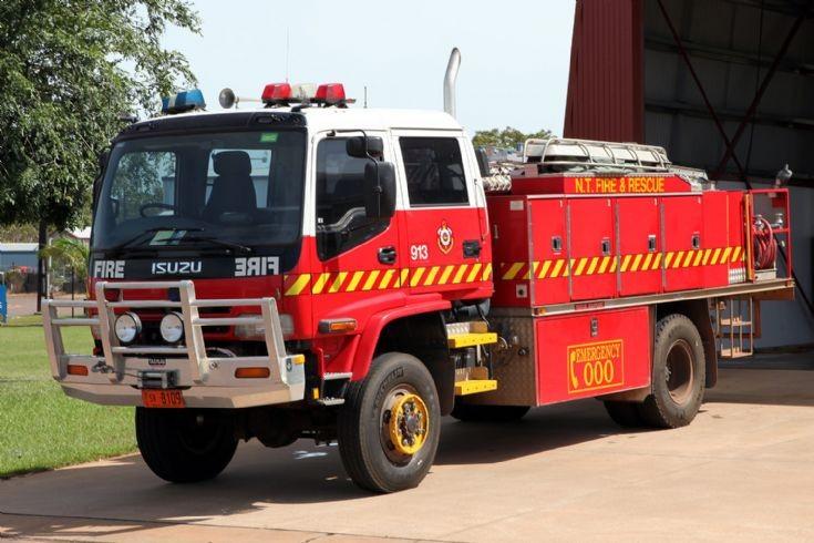 Northern Territory Fire Service Isuzu 913