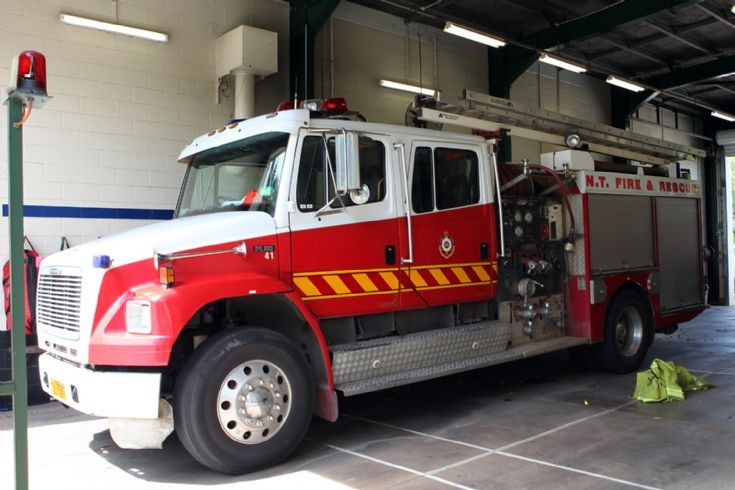 Northern Territory Fire Service Freightliner