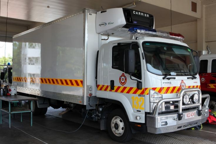 Northern Territory Fire Service Isuzu