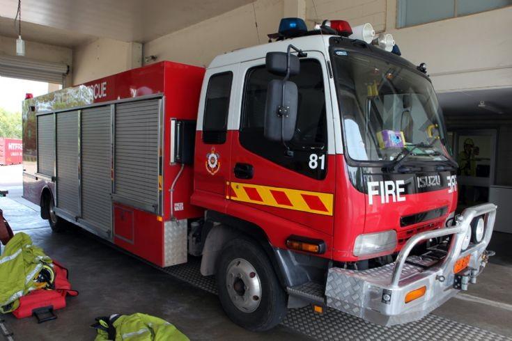 Northern Territory Fire Service Isuzu Rescue
