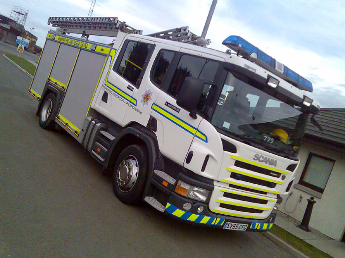 772 Grampian Fire Service Aberdeen fire station