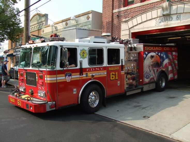 Squad 61 FDNY Never Forget 9-11