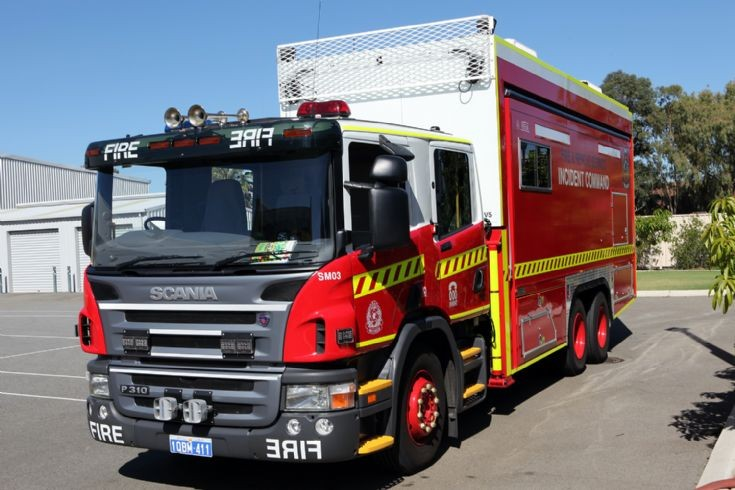 Western Australia - Incident Command Scania P310