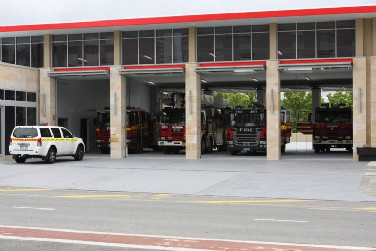 Western Australia - New Perth Station