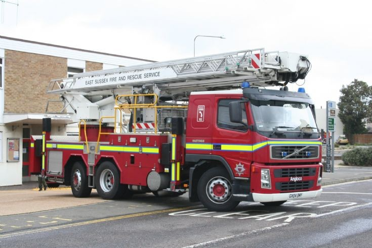 East Sussex Fire & Rescue GX04 BMY