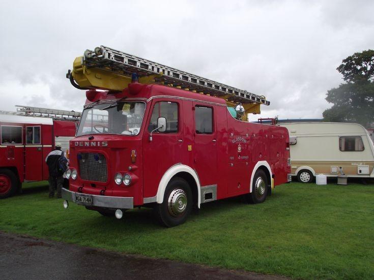 Glasgow Fire Service Dennis WGA 714H