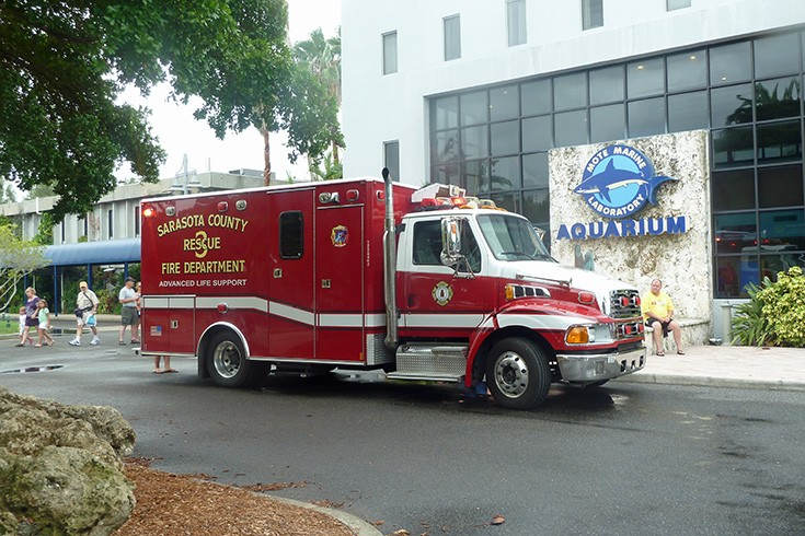 Sarasota County ALS ambulance Rescue 3