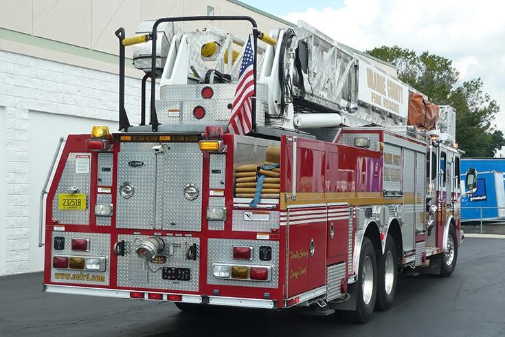 Orange County Florida Ladder 51 E-One